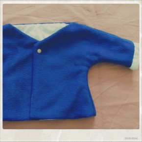 Baby jacket de Purl bee, version Léo