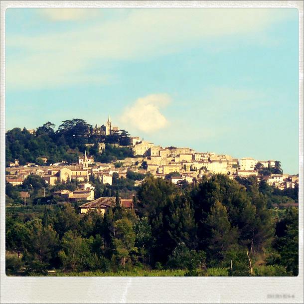 Village perché du Luberon